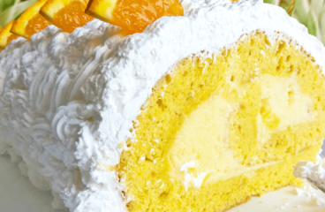 Delightful Rolled Pineapple Cake | My Easy Pineapple Birthday Cake #393<span class=