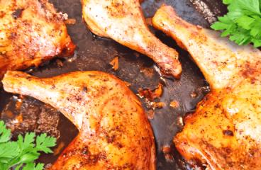 Delightful Roasted Chicken Legs | My Easy Chicken Legs Recipe #388<span class=